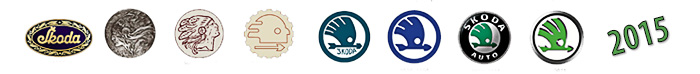 Skoda logo történelem